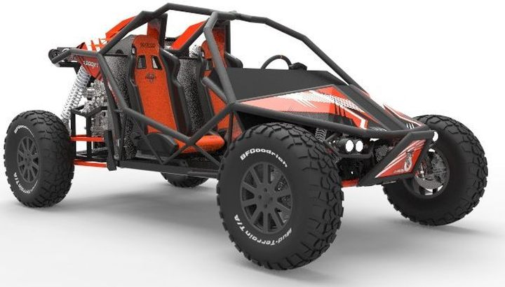 BUGGY BOOXT 1600